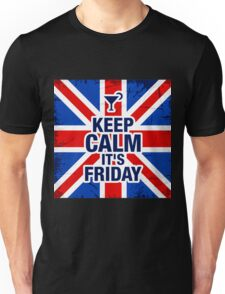 Keep Calm It's Friday Unisex T-Shirt