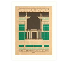 David L. Lawrence Convention Center - 2003 (Green) Art Print