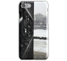 Central Park Gates, Winter NYC iPhone Case/Skin