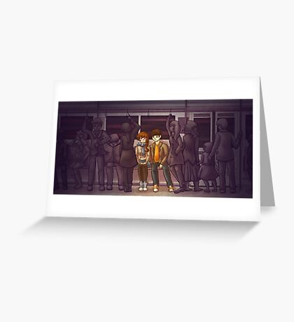 All the Little People Greeting Card