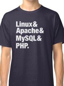 LAMP: Linux & Apache & MySql & PHP - Beatles Parody Classic T-Shirt