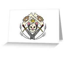 Of Swords, Kings, and Bones Greeting Card