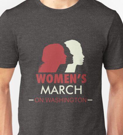 Women's March On Washington T-Shirt 6 Unisex T-Shirt