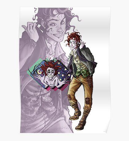 Marionettes in the Mist - Rolly (Banshee & Goblin Babysitter) Poster
