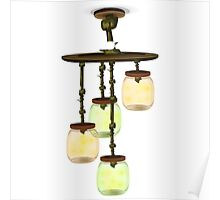 Glitch furniture ceilinglamp firefly jar ceiling lamp Poster