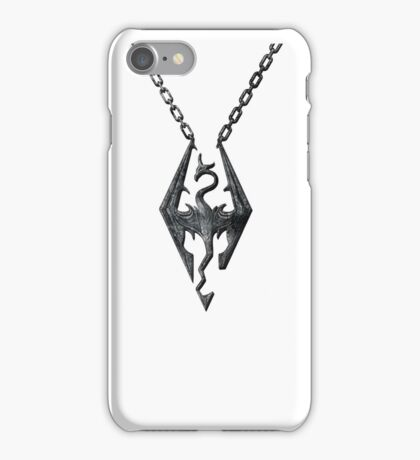 Dragon Necklace iPhone Case/Skin