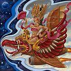 Garuda Girl by Michael Pucciarelli