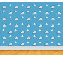 Toy Story Clouds  Photographic Print