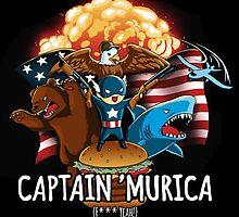 Captain Murica' (f*ck yeah!) by MikazukiMoon
