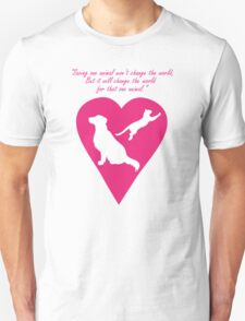 Dog and Cat Heart T-Shirt