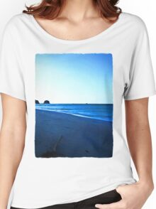 Driftwood on a Beach in the Dying Light Women's Relaxed Fit T-Shirt