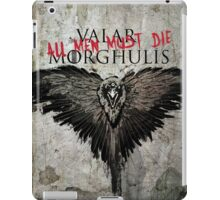 Valar Marghulis Crow iPad Case/Skin