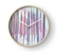 Pastel Abstract. Watercolor Painting Fine Art Print Abstract Art Print from Watercolor Painting Wall Art Clock