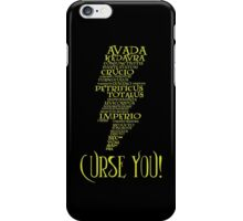 Curse You! iPhone Case/Skin