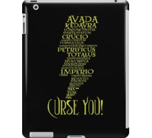 Curse You! iPad Case/Skin