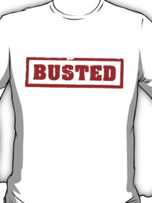 Busted Mythbusters T-Shirt