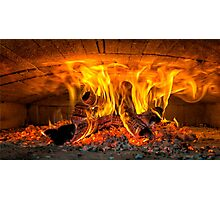 Into the fire... Photographic Print