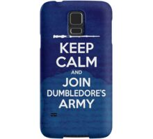Keep Calm and Join Dumbledore's Army Samsung Galaxy Case/Skin