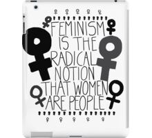 Women are People #1 iPad Case/Skin