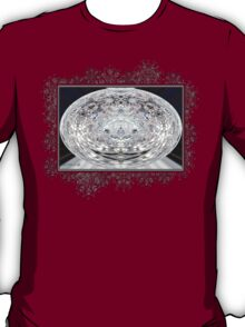 Ice Storm Abstract T-Shirt