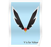 V is for Vulture Poster