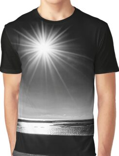 Photographer Taking Pictures Of Sunrise | Hampton Bays, New York Graphic T-Shirt