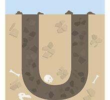 U is for Underground by Jason Jeffery