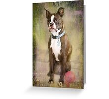 Portrait of a Gentleman Greeting Card