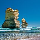 Cliff Remnants along the Great Ocean Road by Chris  Randall