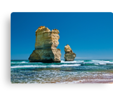 Cliff Remnants along the Great Ocean Road Canvas Print