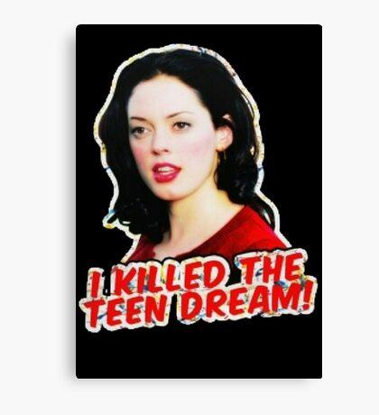 Teen Dream Killer Canvas Print