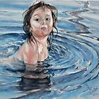 Enjoying the water by Olga-Parr