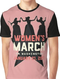 full of peace women's march Graphic T-Shirt