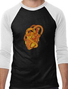Mechanical Heart Men's Baseball ¾ T-Shirt