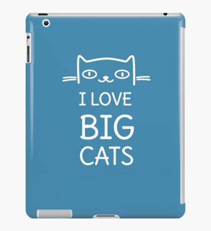 Funny Cute Cat  iPad Case/Skin