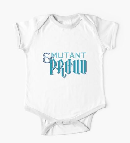 Mutant & Proud One Piece - Short Sleeve
