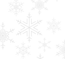 Snowflakes White by Adam Wain
