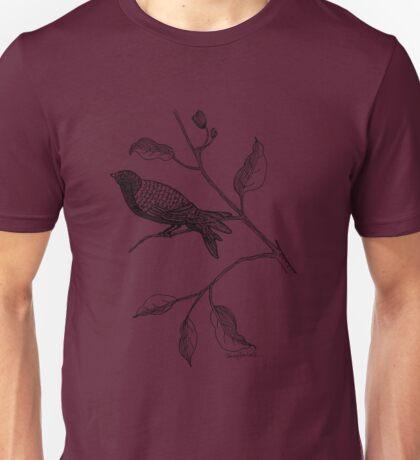 Hallway Bird Unisex T-Shirt