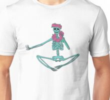 Skelly in a Flower-crown  Unisex T-Shirt