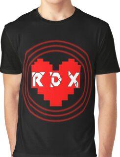 Pixel Heart RDX Graphic T-Shirt