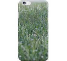 A sea of green immersed in dew iPhone Case/Skin