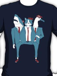 Shark Cat Albatross T-Shirt