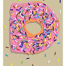 D is for Doughnut by Jason Jeffery
