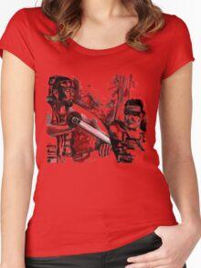 Toshiro Mifune Akira Kurosawa's Seven Samurai Tribute Women's Fitted Scoop T-Shirt