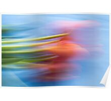 Daydreams - Impressionist Tulips Poster
