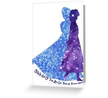 To Thaw A Frozen Heart Greeting Card