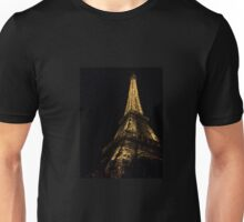 Eiffel Tower at Night Unisex T-Shirt