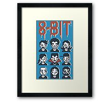 8-Bit By A Vampire Framed Print