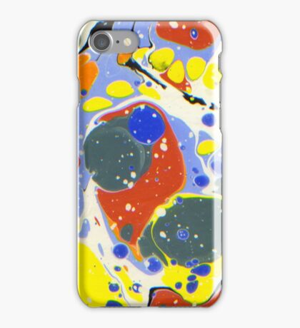 Moving colors 1 iPhone Case/Skin