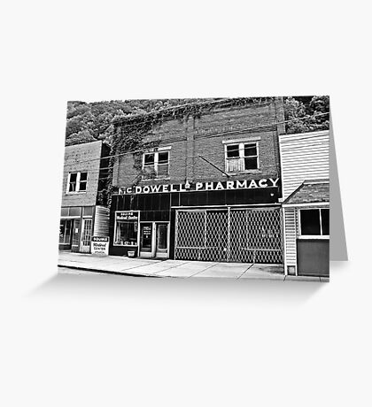 McDowell Pharmacy  Greeting Card